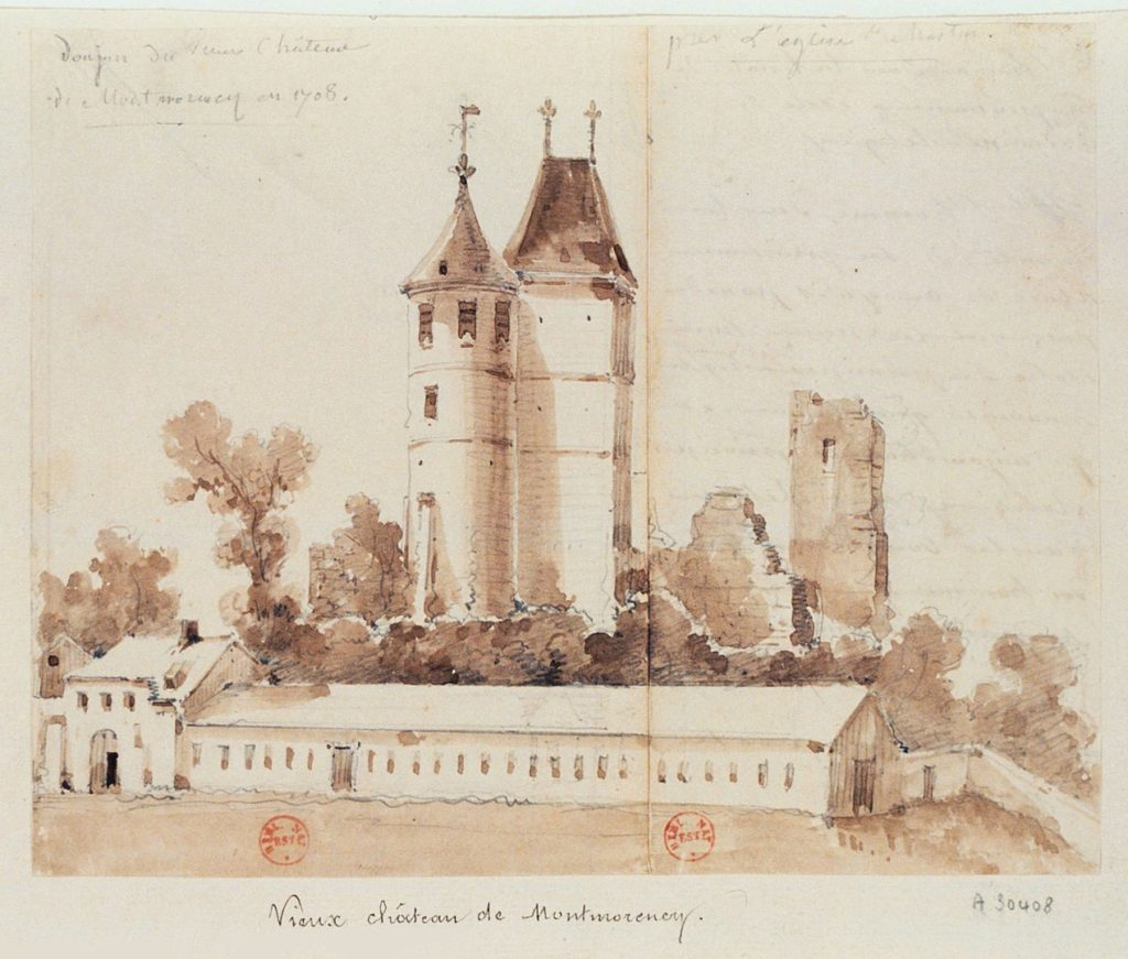 Donjon du château de Montmorency