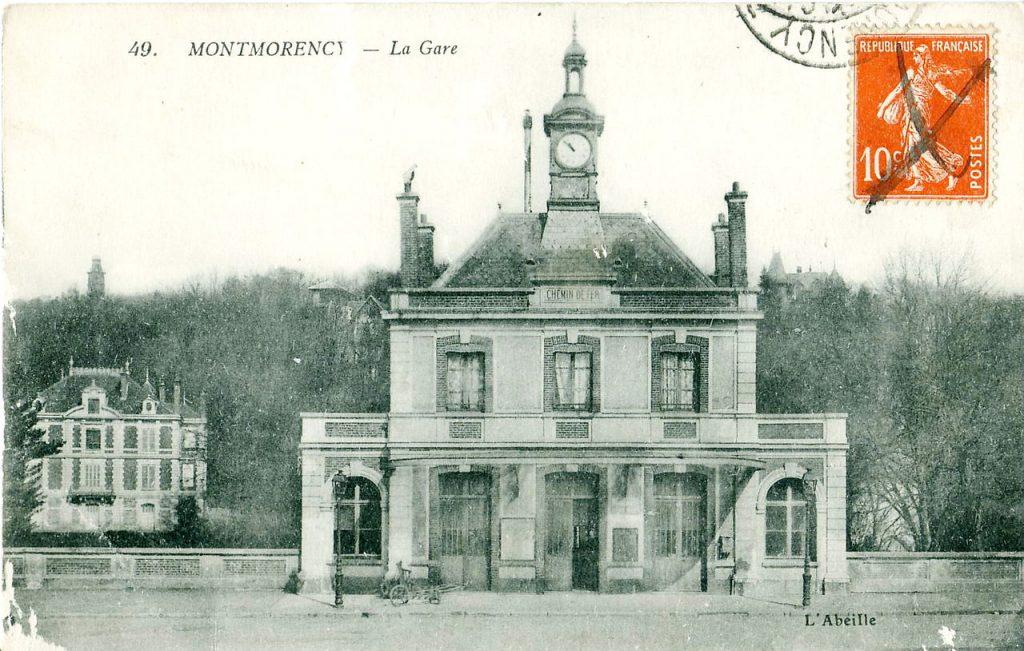 Vue de la gare de Montmorency