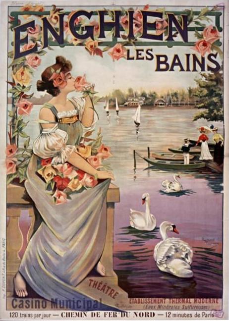 Affiche d'Enghien-les-bains