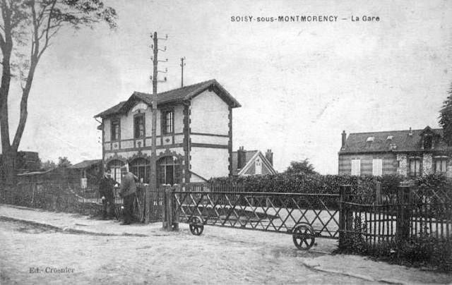 La gare de Soisy-sous-Montmorency