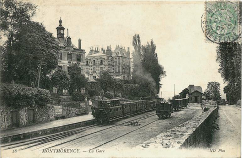 La gare de Montmorency