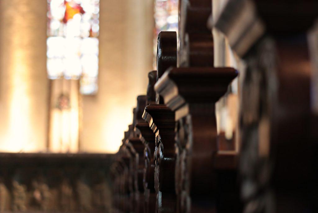 Bancs de l'église