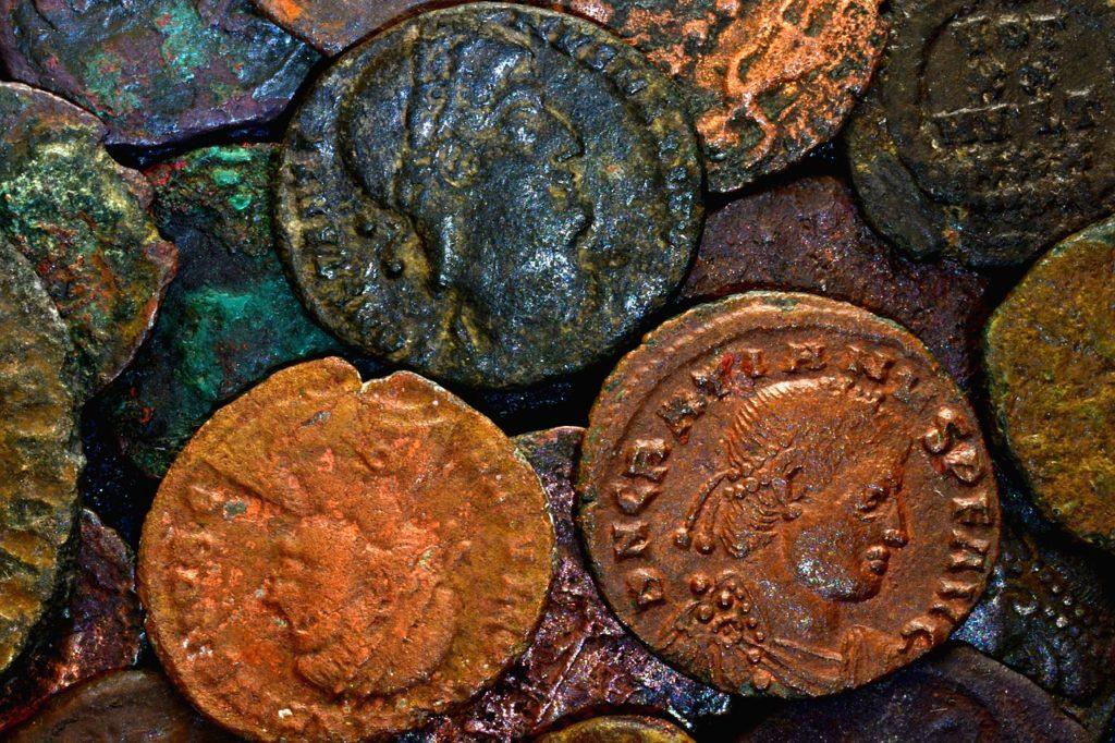 Pièces de monnaie antiques