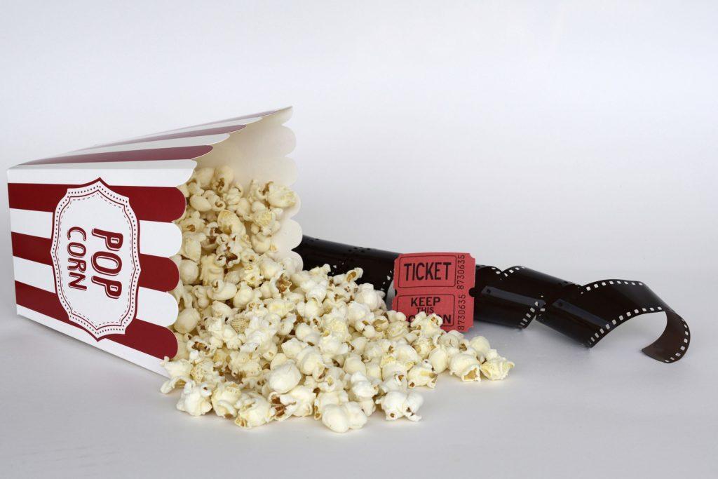 Popcorn et cinéma