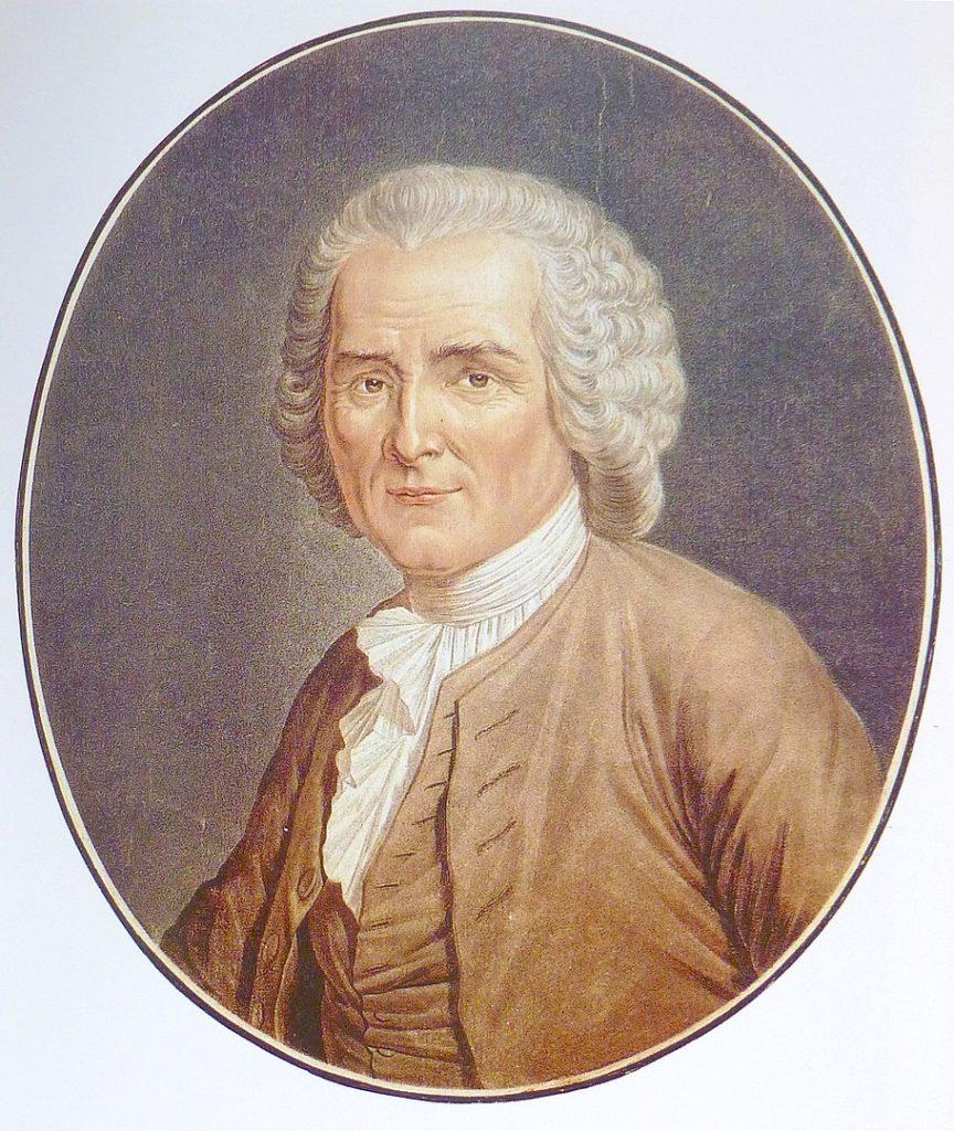 Portrait de Rousseau